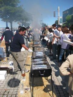 第1回、第2回 銚子の超ぉぃしぃサンマ祭り